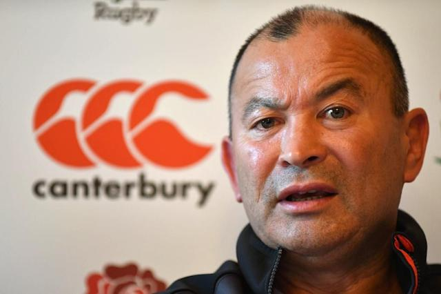 England coach Eddie Jones has come under pressure after a poor Six Nations campaign (AFP Photo/OLLY GREENWOOD)