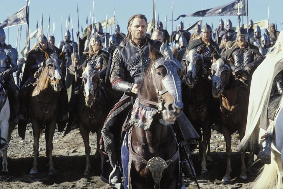 """5. THE LORD OF THE RINGS - $1,031,169,477 <br><br><a href=""""http://movies.yahoo.com/movie/1804738130/info"""" data-ylk=""""slk:The Return of the King"""" class=""""link rapid-noclick-resp"""">The Return of the King</a> (2003) - $376,853,002 <a href=""""http://movies.yahoo.com/movie/1804738128/info"""" data-ylk=""""slk:The Two Towers"""" class=""""link rapid-noclick-resp"""">The Two Towers</a> (2002) - $340,478,898 <br><a href=""""http://movies.yahoo.com/movie/1807537463/info"""" data-ylk=""""slk:The Fellowship of the Ring"""" class=""""link rapid-noclick-resp"""">The Fellowship of the Ring</a> (2001) - $313,837,577"""