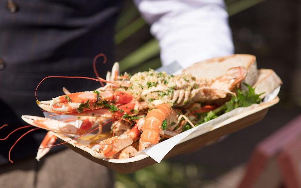 An alfresco pop-up at Gleneagles this summer