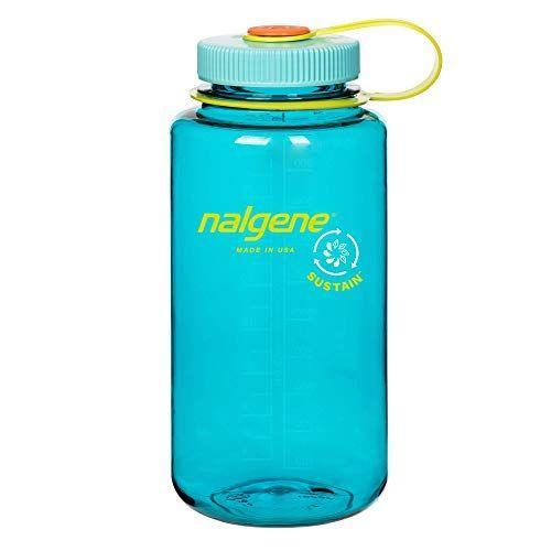 """<p><strong>Nalgene</strong></p><p>amazon.com</p><p><strong>$14.99</strong></p><p><a href=""""https://www.amazon.com/dp/B08LF175VC?tag=syn-yahoo-20&ascsubtag=%5Bartid%7C10055.g.27312224%5Bsrc%7Cyahoo-us"""" rel=""""nofollow noopener"""" target=""""_blank"""" data-ylk=""""slk:Shop Now"""" class=""""link rapid-noclick-resp"""">Shop Now</a></p><p>A favorite in multiple GH Institute Labs, this <strong>32-ounce</strong> <strong>wide-mouthed bottle is easy to drink from and tote along anywhere </strong>thanks to its light weight, plastic loop that easily hooks onto any bag and a screw top that makes for a tight seal so you can toss it in without fear of leaking. Our editors love the """"measurement markings on the side so you know how much you're drinking through the day."""" This pick is made of 50% recycled material for bonus sustainability points. Plus, it's dishwasher-safe and the colors stay bright even after many washes.</p>"""