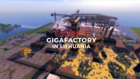 Lithuania used 'Minecraft' to pitch Tesla's next Gigafactory