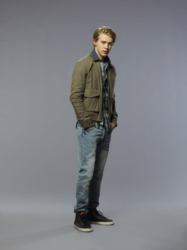 "Austin Butler as Sebastian in ""The Carrie Diaries."""