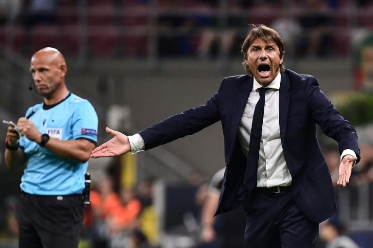 Inter Milan coach Antonio Conte previously won three Serie A titles with Juventus