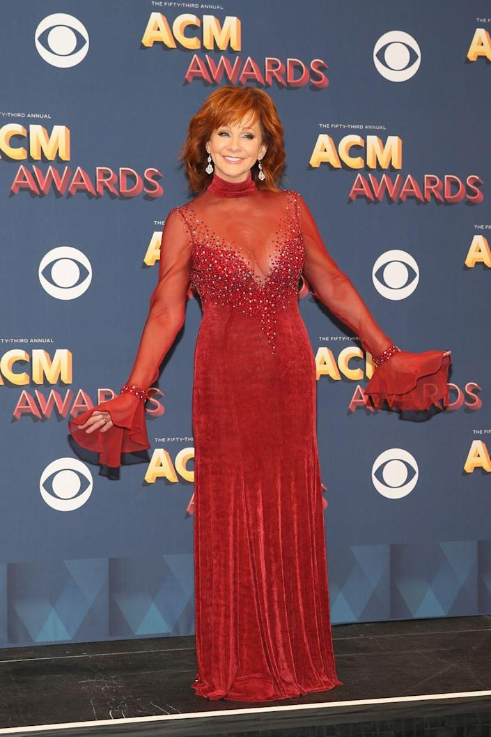 The Most Stunning ACM Awards Dresses Ever Worn by Carrie