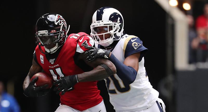 Sunday inactives: Julio Jones, Henry Ruggs among those out for Sunday