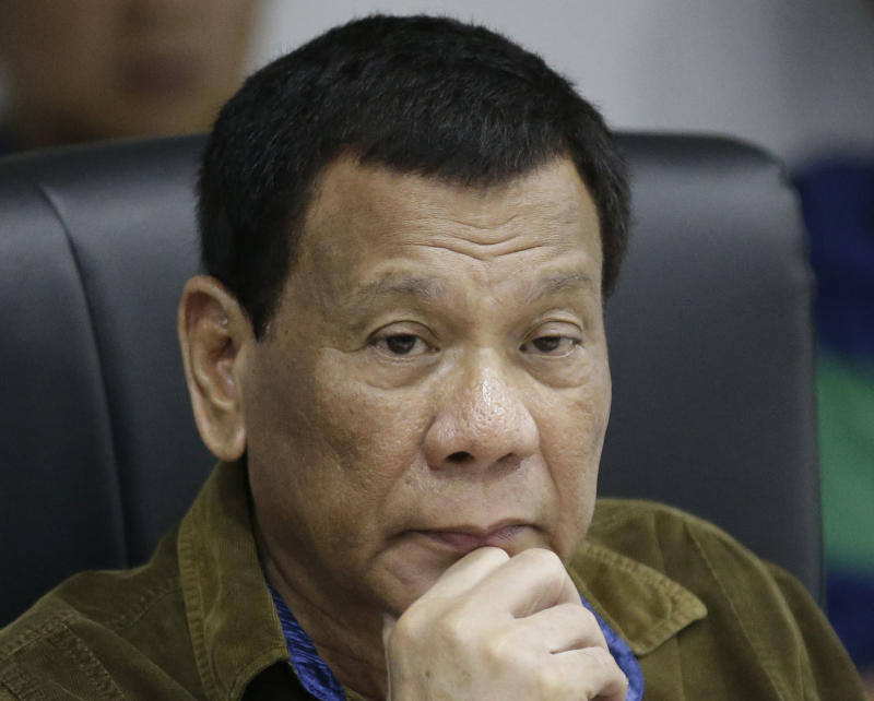 I might have cancer: Philippines' Duterte