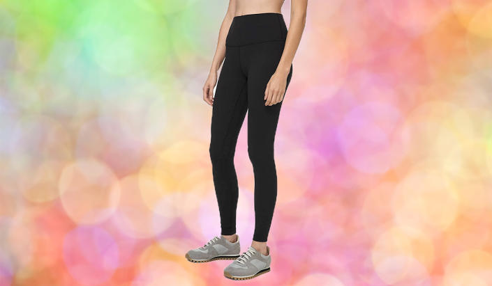 You'll live in these comfy leggings. (Photo: Amazon)