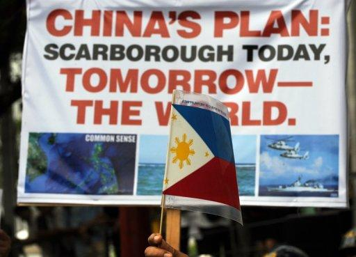China's defence ministry has denied military units are getting ready for war with the Philippines