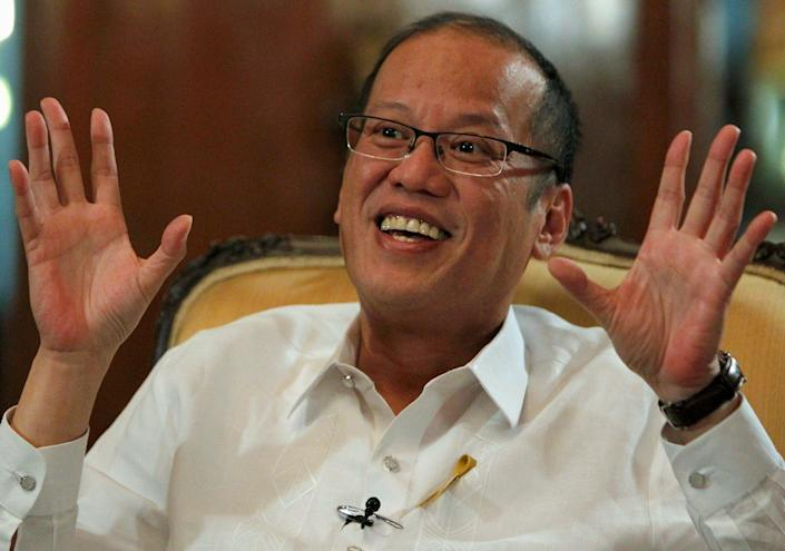 File Philippine President Benigno Aquino at the Malacanang presidential palace in Manila 2 July, 2012 (REUTERS)