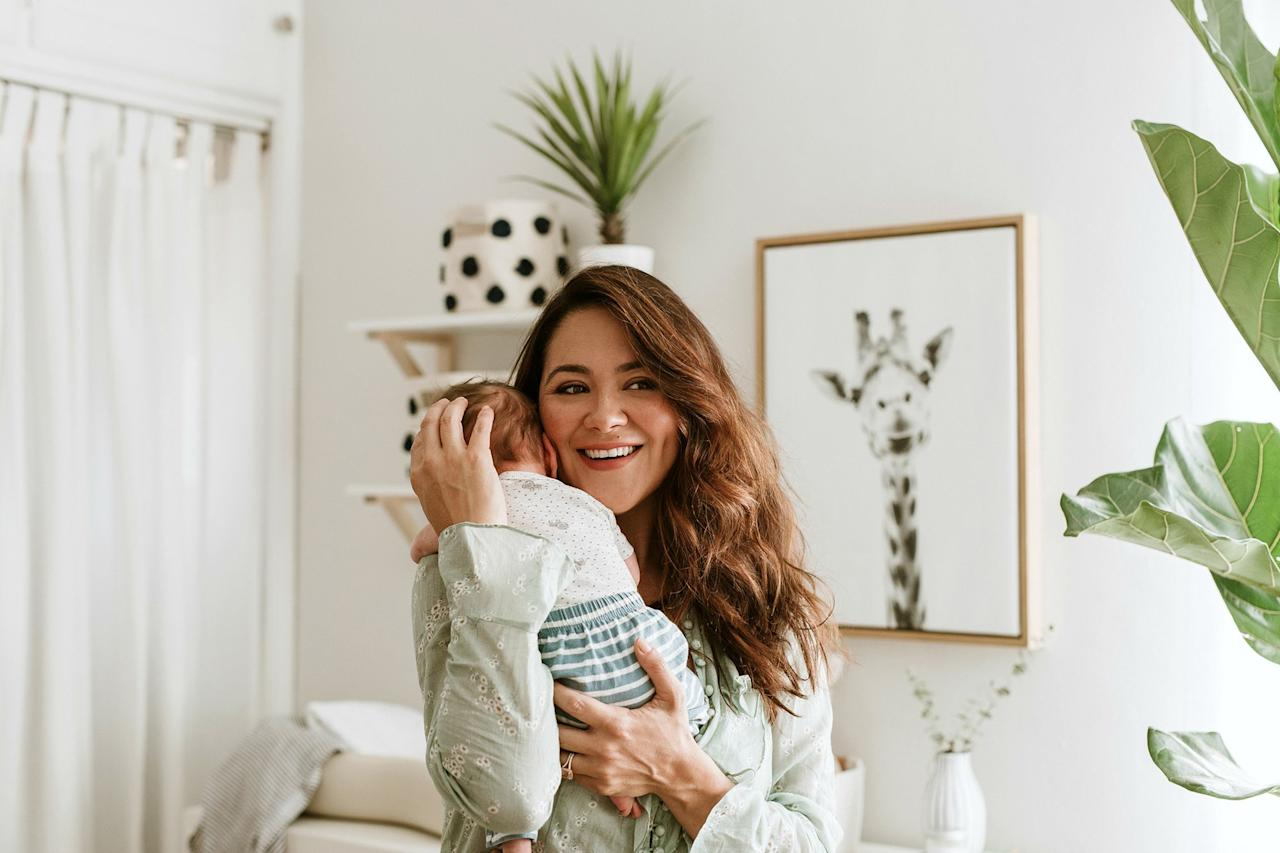 """My heart melts every time I hear <a href=""""https://people.com/parents/camille-guaty-welcomes-son-morrison-rafael-exclusive/"""">Morrison's little baby noises</a>."""