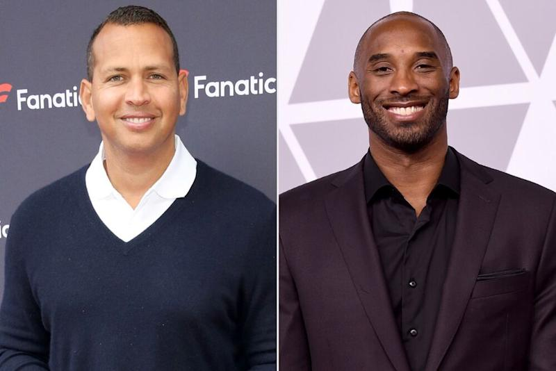 Alex Rodriguez (left) and Kobe Bryant | Robin Marchant/Getty Images; Kevin Winter/Getty Images