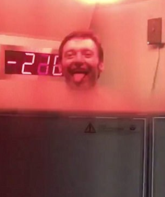 Celebs including Hugh Jackman have tried cryotherapy. Photo: Instagram
