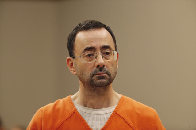 Larry Nassar pled guilty to criminal sexual conduct in November and will spend the rest of his life in prison. (AP)