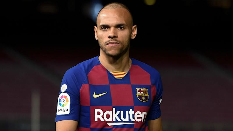People Look At You Differently Braithwaite Reveals What It Feels Like To Play For Barcelona
