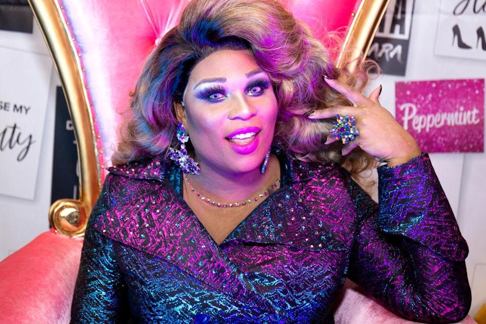 Actress Peppermint stars in <em>Head Over Heels</em> on Broadway. (Photo: Getty Images)