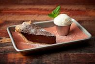 """<p>If chocolate is the first thing you go for when you're craving sweets, then this chocolate chess pie is sure to make your day. Turn to this recipe when you need to use up the eggs in your fridge, because <a href=""""https://www.thedailymeal.com/cook/best-egg-recipes-breakfast-dessert-dinner?referrer=yahoo&category=beauty_food&include_utm=1&utm_medium=referral&utm_source=yahoo&utm_campaign=feed"""" rel=""""nofollow noopener"""" target=""""_blank"""" data-ylk=""""slk:this recipe uses a lot of eggs"""" class=""""link rapid-noclick-resp"""">this recipe uses a lot of eggs</a>.</p> <p><a href=""""https://www.thedailymeal.com/best-recipes/chocolate-chess-pie?referrer=yahoo&category=beauty_food&include_utm=1&utm_medium=referral&utm_source=yahoo&utm_campaign=feed"""" rel=""""nofollow noopener"""" target=""""_blank"""" data-ylk=""""slk:For the Chocolate Chess Pie recipe, click here."""" class=""""link rapid-noclick-resp"""">For the Chocolate Chess Pie recipe, click here.</a></p>"""