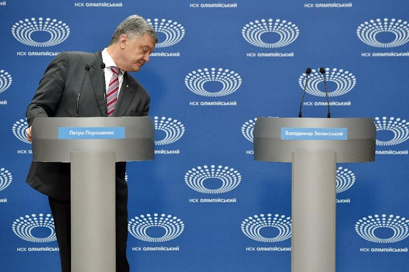 Ukrainian President Petro Poroshenko staged a 'one-man' debate last Sunday after rival presidential candidate Volodymyr Zelensky refused an invitation to discuss the issues