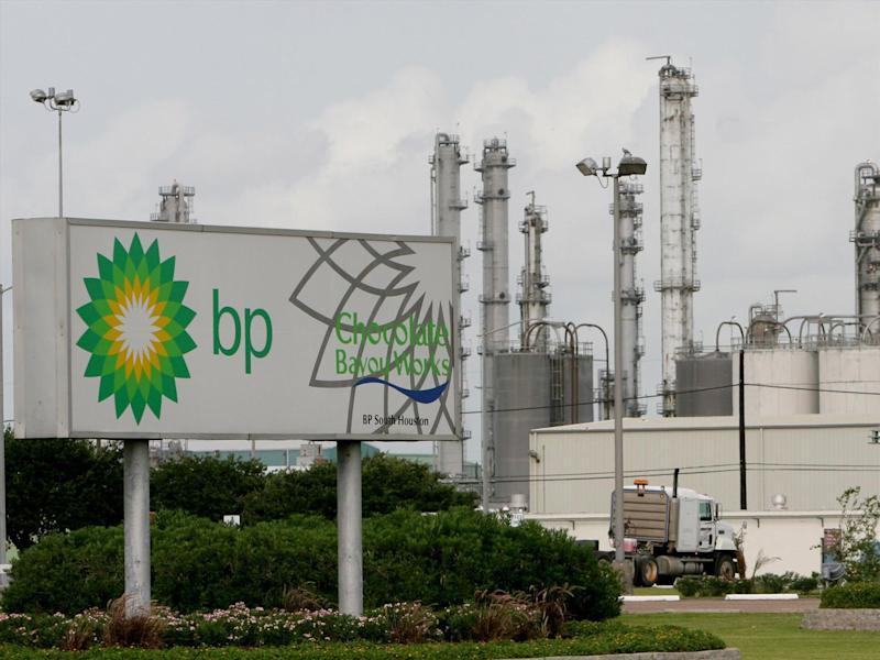 BP chemical plant, Hitchcock, Texas, photo