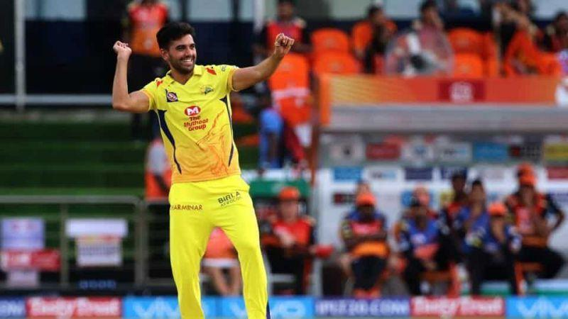 Deepak Chahar was a good wicket-taking option for CSK in the previous edition of the IPL.