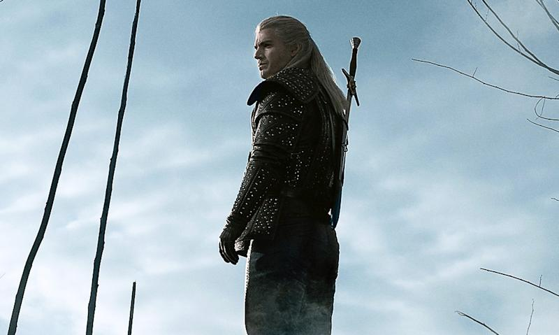 Henry Cavill stars as the solitary monster hunter Geralt of Rivia in
