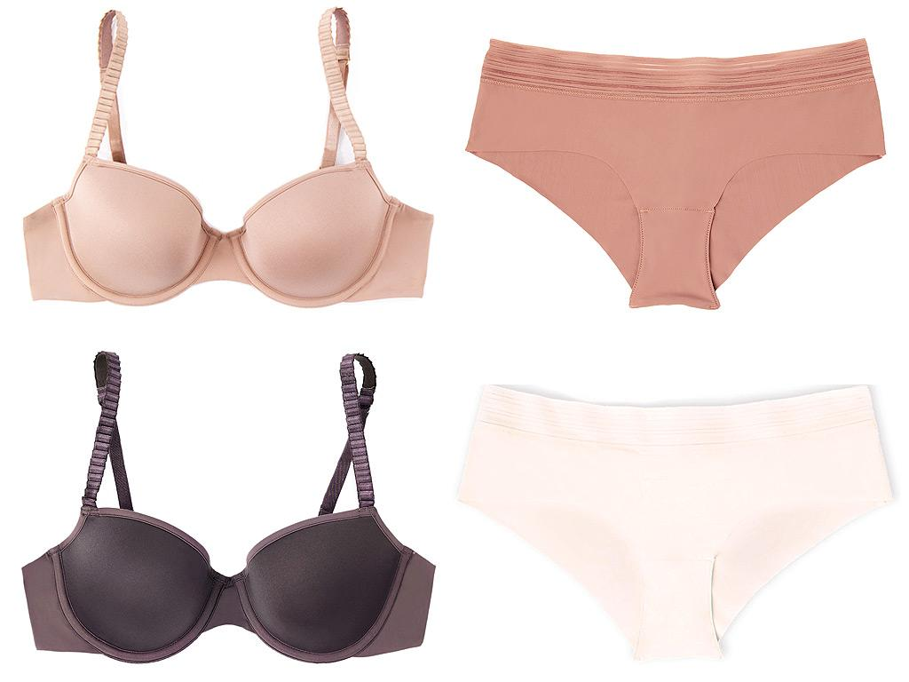 "The Products: ""The New Nakeds"" bra and underwear collectionNumber of Nude Shades: 5Buy It! Classic T-Shirt Bra, $68; thirdlove.com, Seamless Cheeky, $16; thirdlove.com"