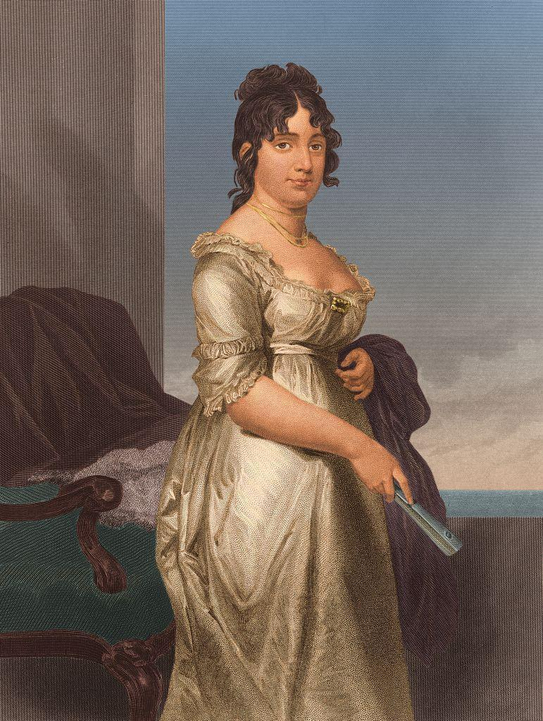 "<p>As a former Quaker, Dolley Madison was used to wearing more modest clothing, but that changed when she left the faith. She then started wearing low-cut dresses <a href=""https://style.time.com/2013/02/18/our-fair-ladies-the-14-most-fashionable-first-ladies/slide/dolley-madison/"" rel=""nofollow noopener"" target=""_blank"" data-ylk=""slk:made famous"" class=""link rapid-noclick-resp"">made famous</a> during the Napoleonic Era that were rich in color, with fabrics that made her ""look like a Queen"" to spectators. </p>"