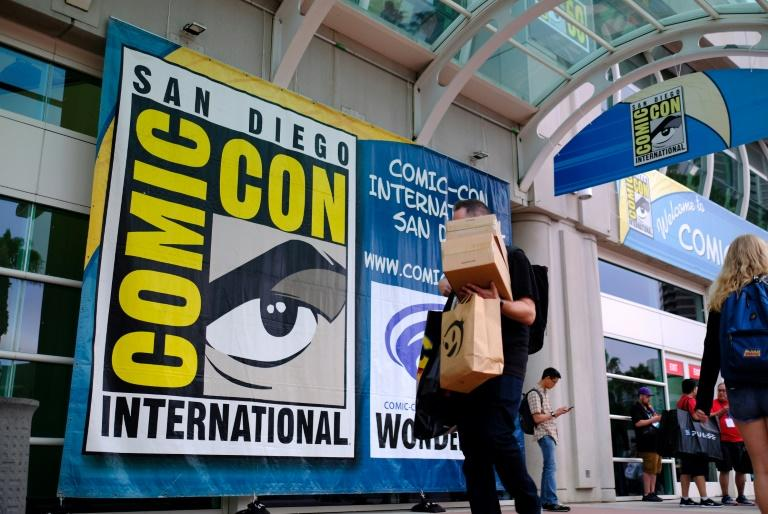 The anniversary 50th edition of Comic-Con International brings 135,000 hyped-up devotees to a sweaty convention center for four days packed with glimpses of the next mega-hit films, TV shows -- and a few comic books