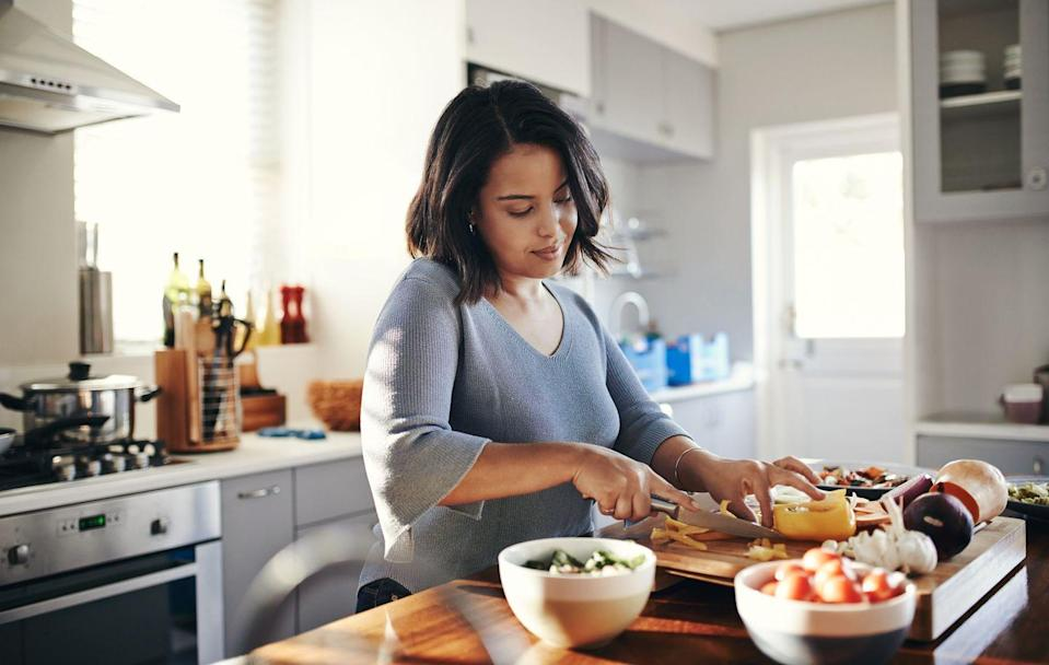 """<p>If you've had a relatively flat stomach for majority of your life and then suddenly that spare tire appears overnight, it may be a sign you've developed a hormonal belly. </p><p>'As we age, the body can become more insulin-resistant, driving your body to store fat instead of burning it off,' explains <a href=""""https://www.saragottfriedmd.com/"""" rel=""""nofollow noopener"""" target=""""_blank"""" data-ylk=""""slk:Sara Gottfried"""" class=""""link rapid-noclick-resp"""">Sara Gottfried</a>, MD, author of <a href=""""https://www.amazon.com/Hormone-Cure-Vitality-Naturally-Gottfried-ebook/dp/B008J48S94?tag=hearstuk-yahoo-21&ascsubtag=%5Bartid%7C1933.g.36669787%5Bsrc%7Cyahoo-uk"""" rel=""""nofollow noopener"""" target=""""_blank"""" data-ylk=""""slk:The Hormone Cure"""" class=""""link rapid-noclick-resp"""">The Hormone Cure</a> and <a href=""""https://order.hearstproducts.com/subscribe/hstproducts/237016"""" rel=""""nofollow noopener"""" target=""""_blank"""" data-ylk=""""slk:The Hormone Reset Diet."""" class=""""link rapid-noclick-resp"""">The Hormone Reset Diet.</a> 'Women also become more oestrogen-dominant as we move into <a href=""""https://www.prevention.com/sex/a22131143/early-menopause-symptoms/"""" rel=""""nofollow noopener"""" target=""""_blank"""" data-ylk=""""slk:perimenopause"""" class=""""link rapid-noclick-resp"""">perimenopause</a> and beyond. Oestrogen dominance promotes insulin resistance, which causes the <a href=""""https://www.prevention.com/weight-loss/a20458064/new-research-on-how-to-lose-belly-fat/"""" rel=""""nofollow noopener"""" target=""""_blank"""" data-ylk=""""slk:belly fat"""" class=""""link rapid-noclick-resp"""">belly fat</a> build-up,' she says. </p>"""