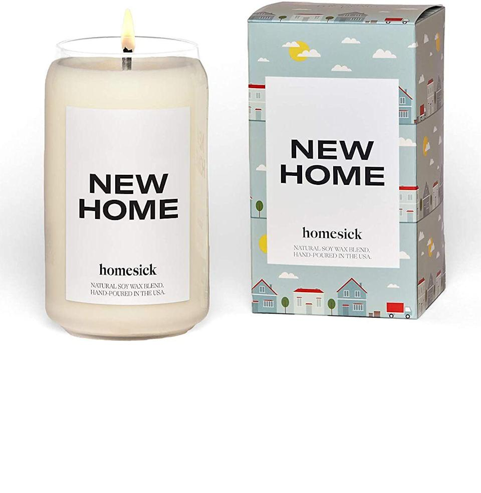 """<p><strong>Homesick Candles</strong></p><p>amazon.com</p><p><strong>$25.50</strong></p><p><a href=""""https://www.amazon.com/dp/B088SBMD51?tag=syn-yahoo-20&ascsubtag=%5Bartid%7C10051.g.36806955%5Bsrc%7Cyahoo-us"""" rel=""""nofollow noopener"""" target=""""_blank"""" data-ylk=""""slk:Shop"""" class=""""link rapid-noclick-resp"""">Shop</a></p><p><strong>Plus, save an additional 20%</strong></p><p>It was a record year for down payments, after all.</p>"""