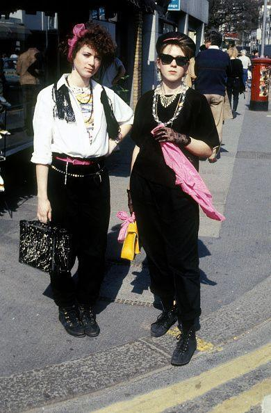 <p>As the song goes, in 1985 there was Springsteen, Madonna, way before Nirvana. And it definitely holds true for these lace-gloved Madonna fans. </p>
