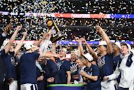 Best sports: men's basketball, men's lacrosse (national champions). Trajectory: up. A two-year slide in the rankings was emphatically reversed, with the Cavaliers bouncing up 13 spots year-over-year. The school's first men's basketball title certainly helped, as did the first title in men's lacrosse in eight years. Virginia also was strong in women's lacrosse, men's tennis, field hockey, soccer (both men's and women's teams) and swimming (both teams).