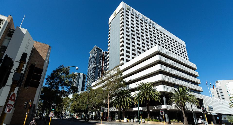 The Pan Pacific Hotel in Perth, Western Australia