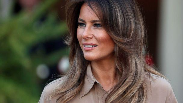 PHOTO: First Lady Melania Trump is pictured as she arrives at the State House in Lilongwe, Malawi, Oct. 4, 2018. (Carlo Allegri/Reuters)