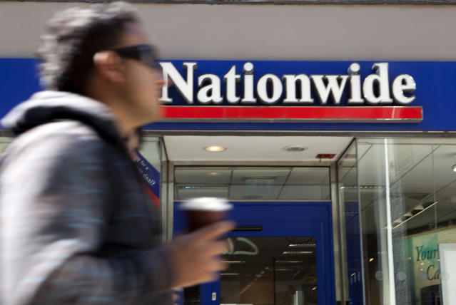 Exterior shot of a Nationwide branch. (Photo by: Newscast/Universal Images Group via Getty Images)