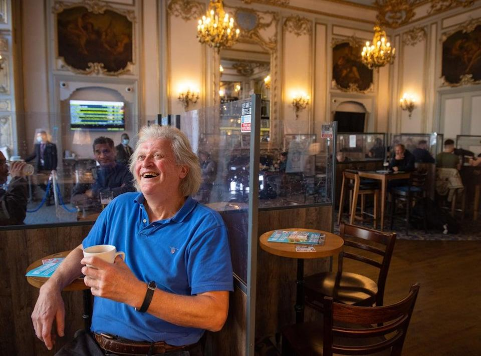 """Wetherspoons chairman Tim Martin said the lockdown decisions are a """"threat to democracy"""" (Dominic Lipinski/PA) (PA Wire)"""
