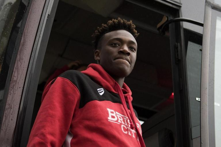 Watch Chelsea's Tammy Abraham stun Swansea team-mates with singing initiation