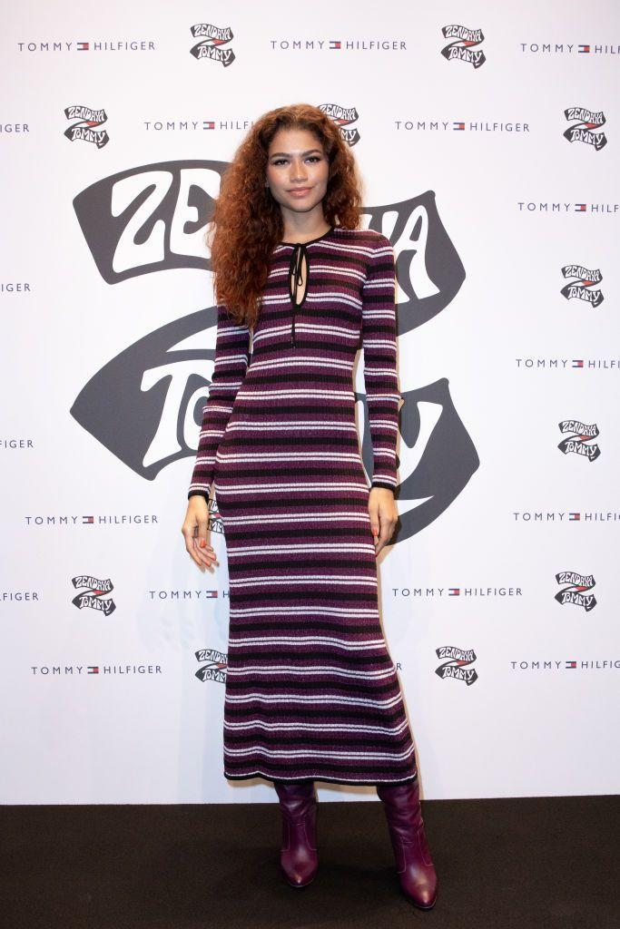 <p>For the Tommy X Zendaya Collection Launch in Milan, Zendaya once again wore Tommy Hilfiger. </p>