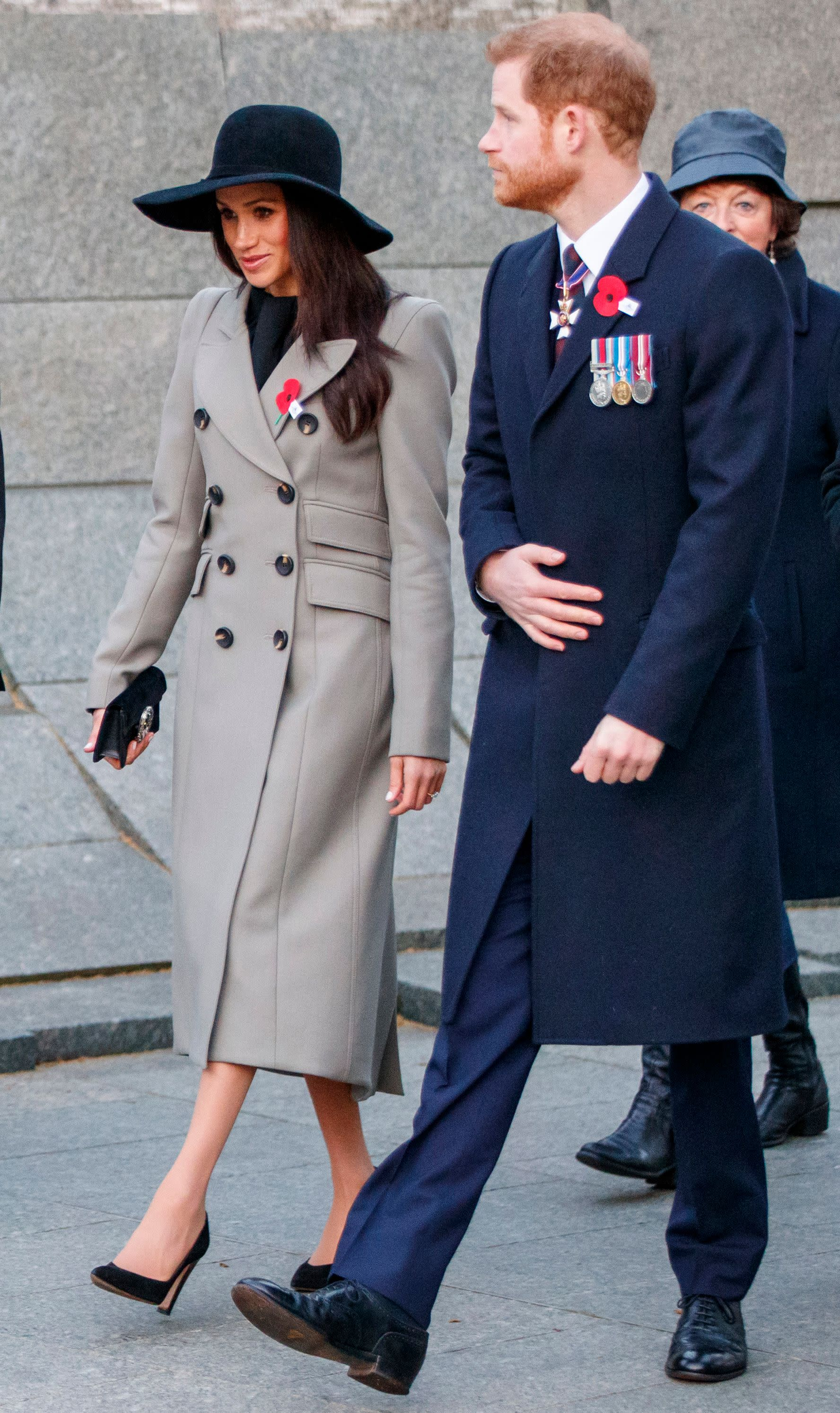 Meghan Markle's Military Style at the Anzac Day Service