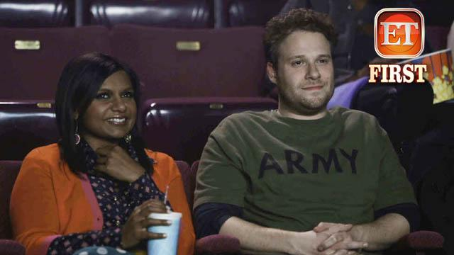 Exclusive Pic: Seth Rogen & 'Mindy' Are Lovers