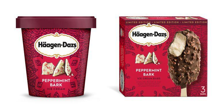 <p>If you're a frequent customer at your local Haagen-Dazs shop, definitely order their seasonal Peppermint Bark flavor incorporated into a shake, sundae or brownie cookie sandwich. Or grab some pints of this minty masterpiece to take home - just make sure your holiday guests don't hog it all.</p>
