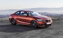 "<p>It isn't quite the least expensive BMW you can buy—two other vehicles with the blue-and-white roundel also reside on this list—but the <a href=""https://www.caranddriver.com/bmw/2-series"" rel=""nofollow noopener"" target=""_blank"" data-ylk=""slk:2-series coupe"" class=""link rapid-noclick-resp"">2-series coupe</a> definitely is one of the most entertaining to drive. The <a href=""https://www.caranddriver.com/reviews/a23550615/2018-bmw-230i-automatic-transmission/"" rel=""nofollow noopener"" target=""_blank"" data-ylk=""slk:base 230i model's turbocharged 2.0-liter four-cylinder"" class=""link rapid-noclick-resp"">base 230i model's turbocharged 2.0-liter four-cylinder</a> engine is eager and willing, and the rear-wheel-drive chassis makes for balanced and sprightly handling. It's even available with a six-speed manual transmission as a no-cost option.</p><ul><li>Engines: 248-hp turbocharged 2.0-liter inline-four; 335-hp turbocharged 3.0-liter inline-six </li><li>Cargo space: 10–14 cubic feet </li></ul><p><a class=""link rapid-noclick-resp"" href=""https://www.caranddriver.com/bmw/2-series/specs"" rel=""nofollow noopener"" target=""_blank"" data-ylk=""slk:MORE 2-SERIES SPECS"">MORE 2-SERIES SPECS</a></p>"