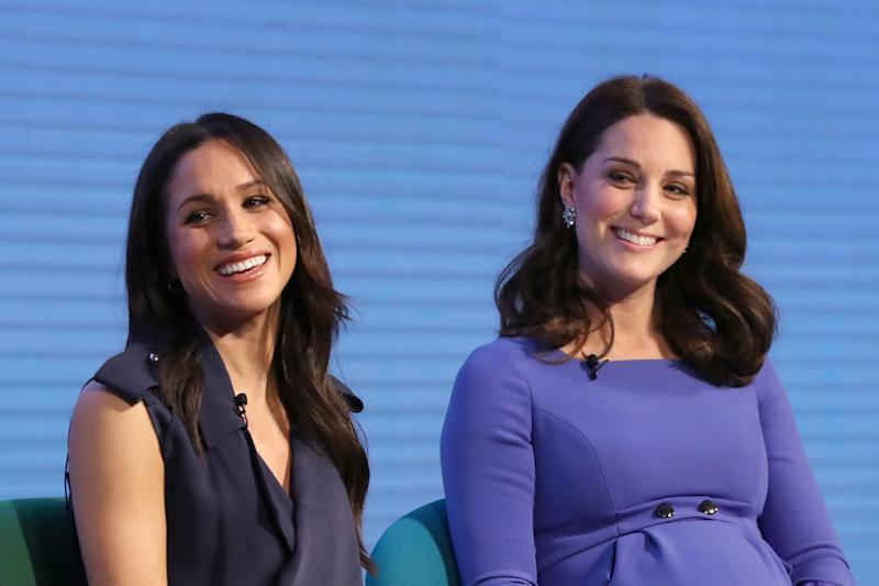 Meghan Markle e Kate Middleton (Foto: Chris Jackson/WPA Pool/Getty Images)