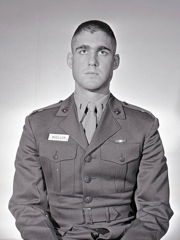 1968 At Marine Officer Candidates School.