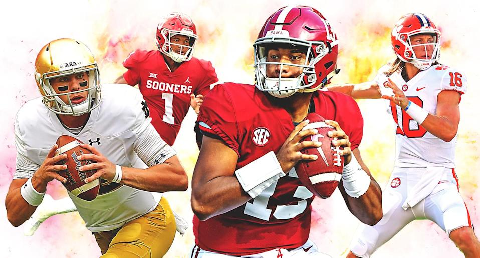 The college football bowl season is upon us. (Yahoo Sports illustration)