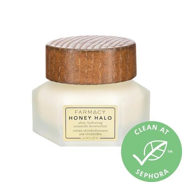 <p>This new <span>Farmacy Honey Halo Ultra-Hydrating Ceramide Moisturizer</span> ($45) can hydrate distressed skin now and well into winter, too. It features honey, royal jelly, and propolis from bees for a big boost of moisture and antioxidants, and it helps protect your moisture barrier at the same time.</p>