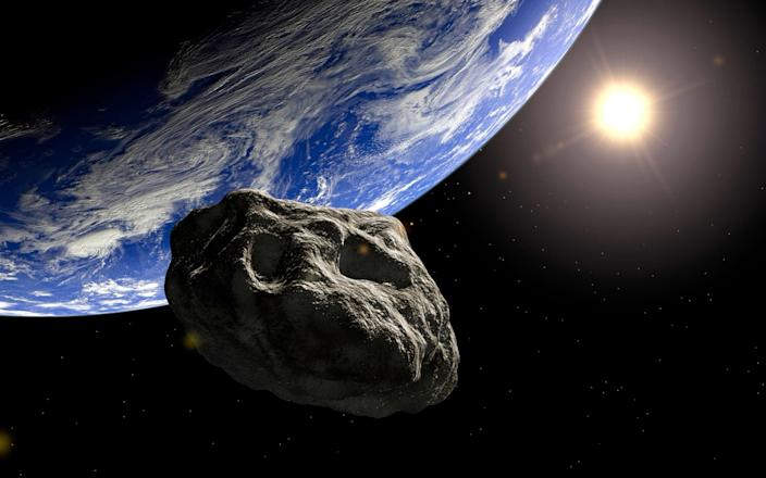 Asteroid reaches the earth - Dieter Spannknebel/Getty Images
