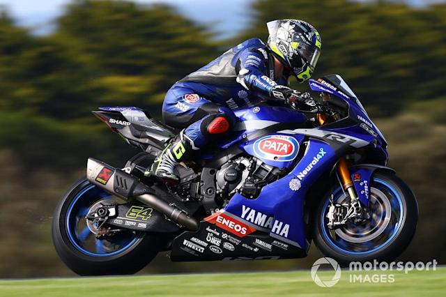 "Federico Caricasulo, GRT Yamaha <span class=""copyright"">Gold and Goose / Motorsport Images</span>"