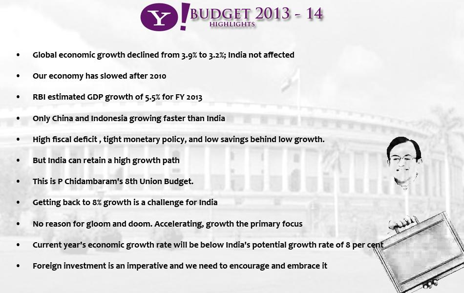 Budget Highlights1