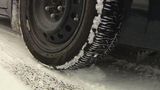 From Oct. 1 to March 31, drivers travelling on most B.C. highways are legally required to use winter tires. That's extended to April 30 on some mountain highways. (Monty Kruger/CBC - image credit)