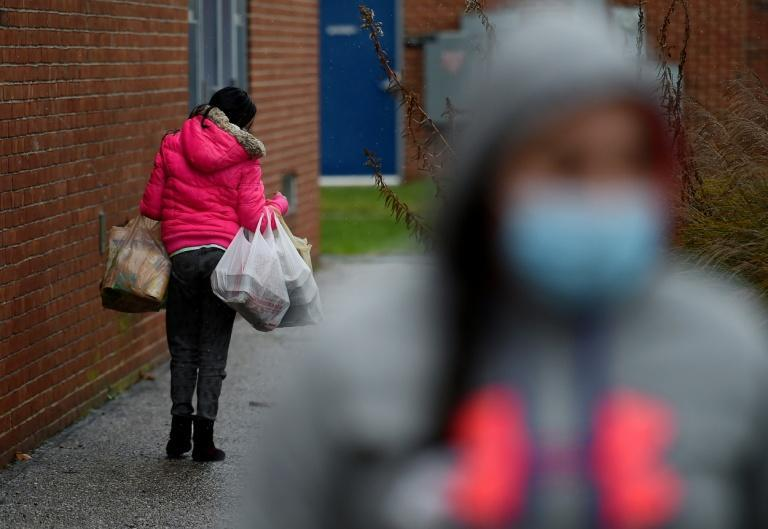 The Baltimore Hunger Project has seen demand for free groceries from the city and its suburbs triple since the pandemic struck the United States